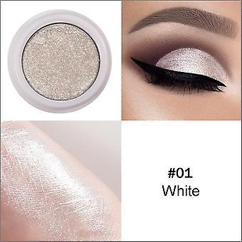 12 gemischte Farben - Pulver Pigment Glitter Mineral Spangle Lidschatten Make Up Schimmer glänzend