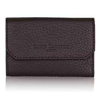 Cocoa Brown Richmond Leather Key Wallet