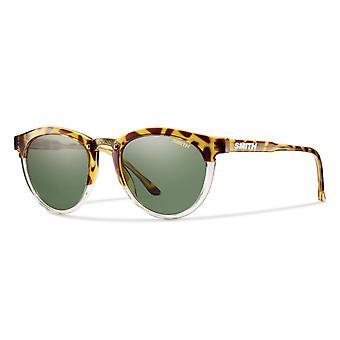 النظارات الشمسية Unisex Questa الاستقطاب العنبر / الرمادي والأخضر