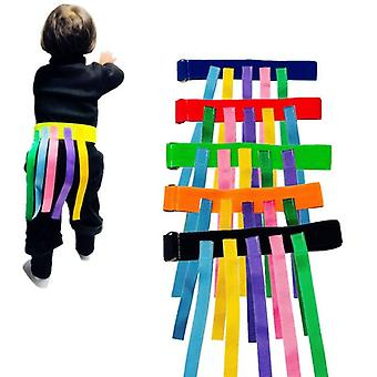 Enfants en plein air Funny Game Toy Belt For Kindergarten - Kids Catching Tail
