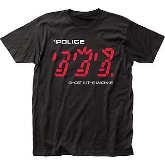 Poliisin t-paita Poliisin haamu koneen t-paidassa