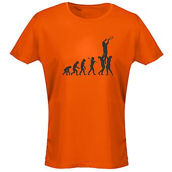 Rugby Evo Evolution Funny Womens T-Shirt 8 Colours by swagwear