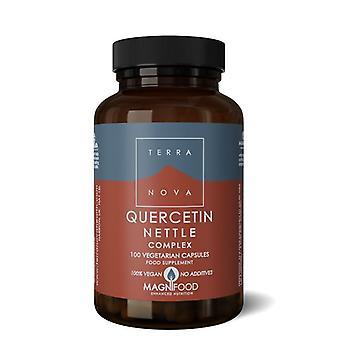 Complejo de ortiga Terranova Quercetina Vegicaps 100 (T3852)
