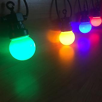 Ip65 Led Globe G50 Multicolor verschließbare Outdoor bunte String Lichter