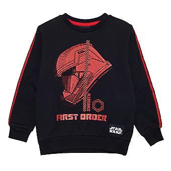 Star Wars The Rise of Skywalker Sith Trooper Girls Crewneck Sweatshirt | Official Merchandise
