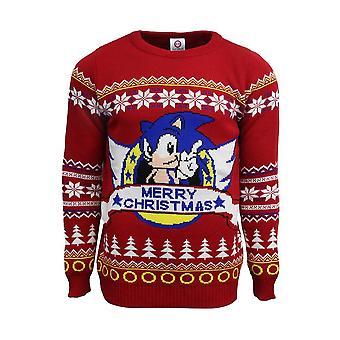Sonic the Hedgehog - świąteczny sweter