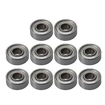 10pcs Lager Stahl Mini Kugel Lager Miniatur MR83ZZ 3x8x3mm