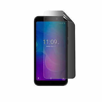 Celicious Privacy 2-Way Anti-Spy Filter Screen Protector Film Compatible with Meizu C9 Pro