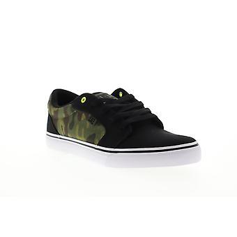 DC Anvil TX SE Mens Black Canvas Skate Sneakers Schoenen