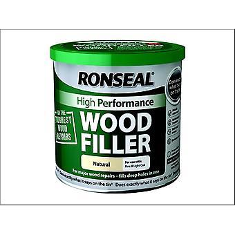 Ronseal High Performance Wood Fillerer Natural 1kg