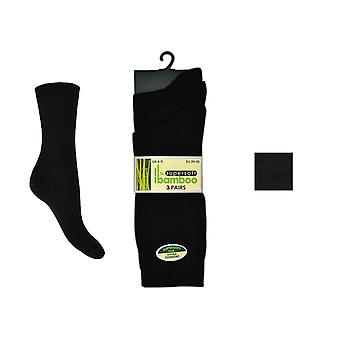 Otterdene Mens Bamboo Socks 6-11 Ribbed AS997