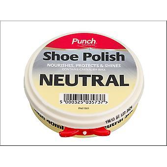 Punch Shoe Polish Neutral 40ml