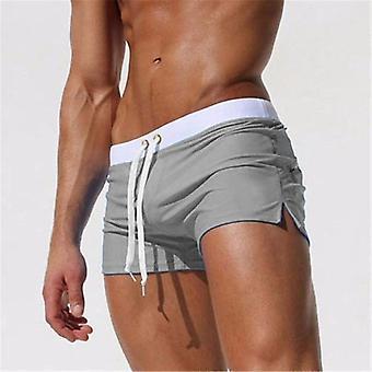 Men Swimwear Sexy Swimming Trunks Briefs Beach Shorts