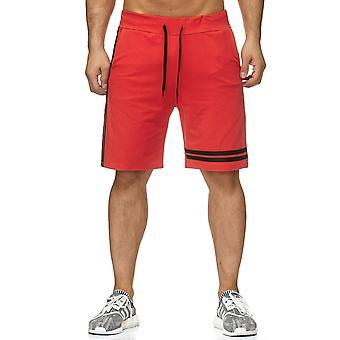 Sweat hommes Shorts Bermuda pantalon Jogging Sport bandes Stretch ceinture