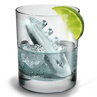 Gin og titonisk isterning bakke