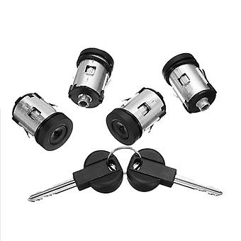 Barrel Door Locks Keys Set For Fiat Scudo