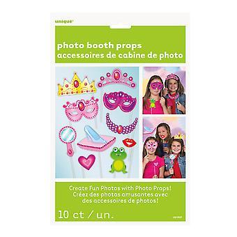 كشك صور الأميرة الطرف الفريدة الدعائم (حزمة من 10)