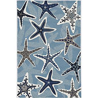 HAR 4203 2'X 3' - Alfombra azul