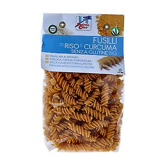 Fusilli rice and turmeric gluten free 250 g