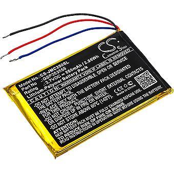 Speaker Battery for JBL GSP383555 Clip 2 Clip 2 AN CLIP2BLKAM CS056US P04405201