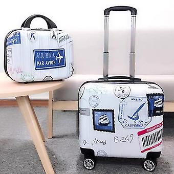 Kid's Travel Luggage Suitcase With Wheels