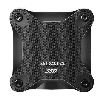 Adata sd600q 960gb εξωτερικός σκληρός δίσκος ssd μονάδων στερεάς κατάστασης, μαύρος, asd600q-960gu31-cbk