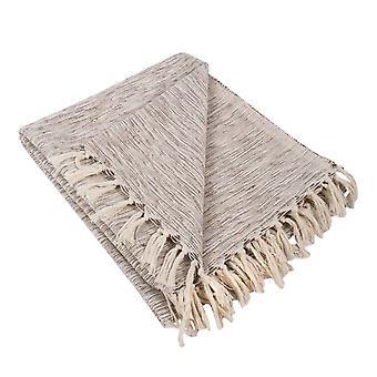 Dii Brown Variegated Werfen Decke