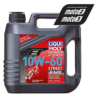 Liqui Moly 4 Stroke Fully Synthetic Street Race 10W-60 4L - #1687
