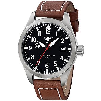 Mens Watch Khs KHS.AIRS.LB5, Quartz, 46mm, 10ATM