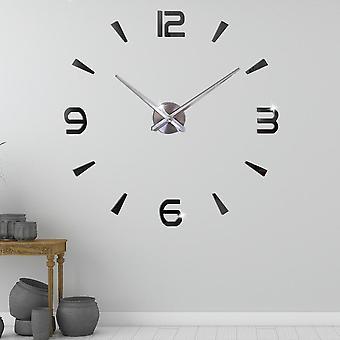 Silent Oversize Digital Clock, Diy Large Wall Modern Design For Living Room,