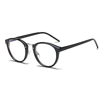 Blue Light Glasses Frame Computer Glasses Spectacles Round Transparent