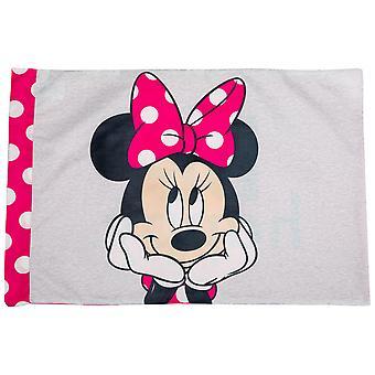 Disney Minnie Mouse Gesicht glücklich Kissenbezug