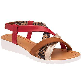 Lotus Ronnie Womens Slip On Sandals