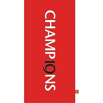 Manchester United FC Official Printed Jacquard Beach Towel
