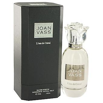 L'eau De Cristal Eau De Parfum Spray By Joan Vass 3.4 oz Eau De Parfum Spray