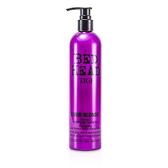 TIGI Bed Head Dumb Blonde shampooing (pour cheveux traité chimiquement) 400ml / 13,5 oz