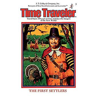 The First Settlers - (Time Traveler) by Carol Gaskin - 9781596876392 B