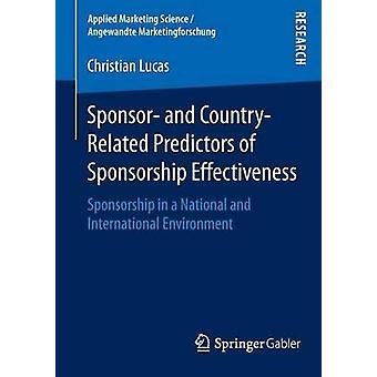 Sponsorointiin ja maahan liittyvät sponsoroinnin tehokkuuden ennustajat -