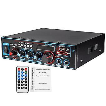 800W 12/220v Hifi 2ch Leistungsverstärker Audio Heimkino Soundsystem Audio Mini Verstärker Bluetooth Fm USB SD-Karte für Heimauto