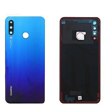 Arka Cam Huawei P30 Lite Pil Kapağı Arka Kapı Muhafaza Kasası