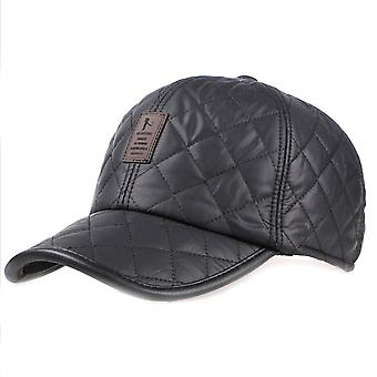 Men Winter Baseball Cap Sports Thickened Ear Protection Hat