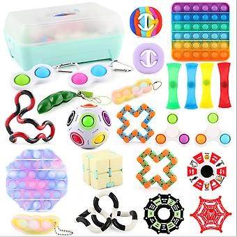 Fidget Toys Sensory Set Unzip toy set