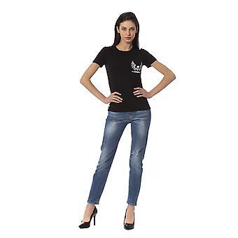 Frankie Morello Black Tops & T-Shirt - FR1234844