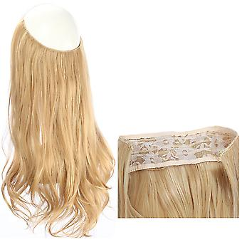 Long curly hair big wave seamless wig