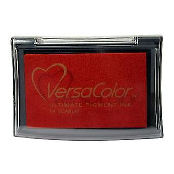 Tsukineko Versacolor Pigment Ink Pads - Scarlet