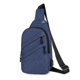 Shoulder Bag With Usb Charge Hole