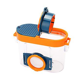Insect inspection box with magnifiers kids bug catcher and viewer microscope magnifier gg90698