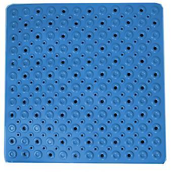 badvorleger 53 cm PVC blau