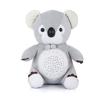 Chipolino Musikk Plysj Leketøy Koala, 12 Forskjellige Melodier, Projektor, Timer