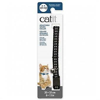 Catit Black Reflective Breakaway Collar (Dogs , Collars, Leads and Harnesses , Collars)